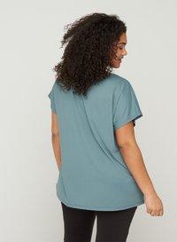 Active by Zizzi - Basic T-shirt - grey - 2