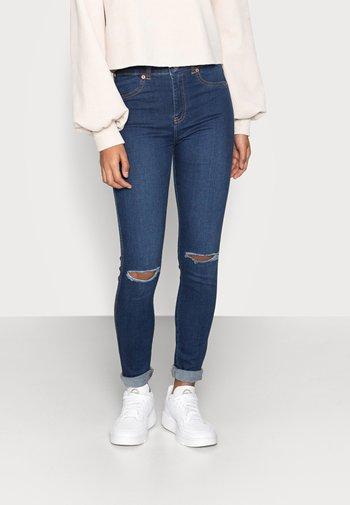 PLENTY - Jeans Skinny Fit - paradise darkblue ripped