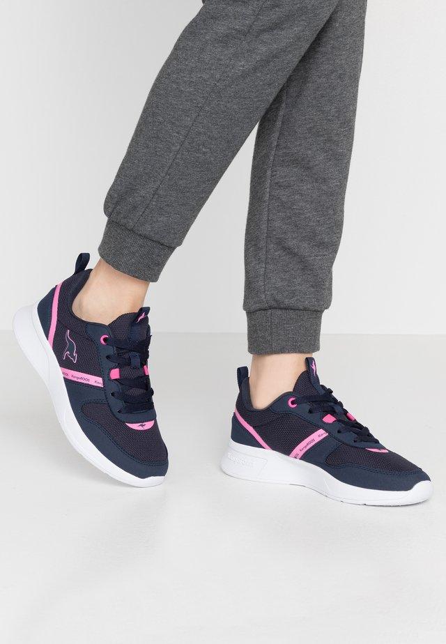 KF-A VOGE - Trainers - dark navy/daisy pink
