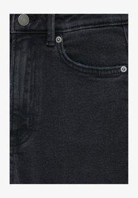 PULL&BEAR - Slim fit jeans - mottled black - 5