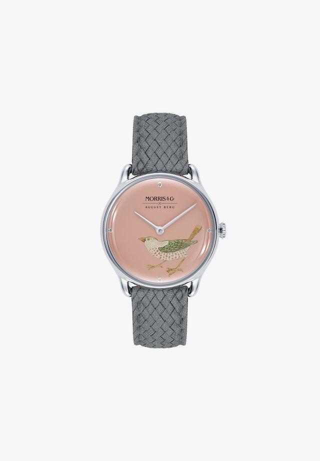 MORRIS & CO SILVER BIRD - Watch - primrose