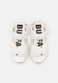 Buffalo - VEGAN BINARY  - Platform sandals - white - 5