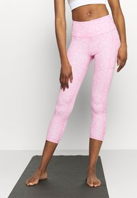Cotton On Body - LOVE YOU A LATTE 7/8 - Legginsy - tonal pinks - 0