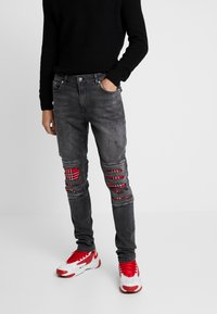 YOURTURN - Jeans Skinny Fit - black denim - 0