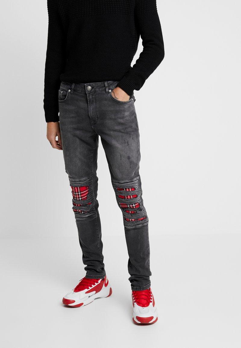YOURTURN - Jeans Skinny Fit - black denim