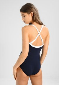 Seafolly - BLOCK PARTY SWEETHEART MAILLOT - Swimsuit - indigo - 3