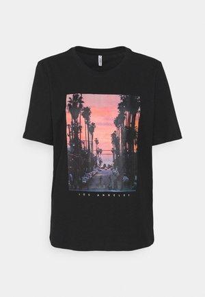 ONLIRIS LIFE BOXY CITY - T-shirts print - black