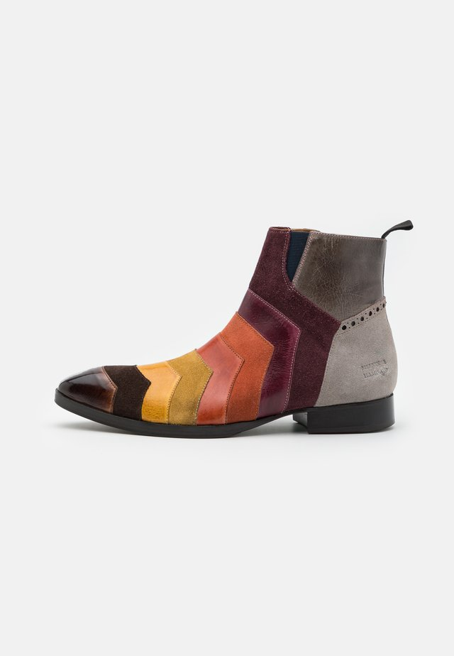 RICKY  - Classic ankle boots - pattini/multicolor