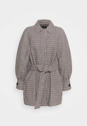 GALICO - Classic coat - bleu/ecru