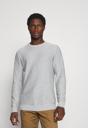 SLHBRENT CREW NECK - Sweter - light grey melange