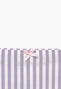 Skiny - GIRLS 2 PACK - Kalhotky - purple/white - 4
