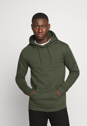 CORE HOOD - Sweat à capuche - khaki