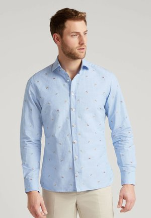 STRAW HAT - Shirt - blue