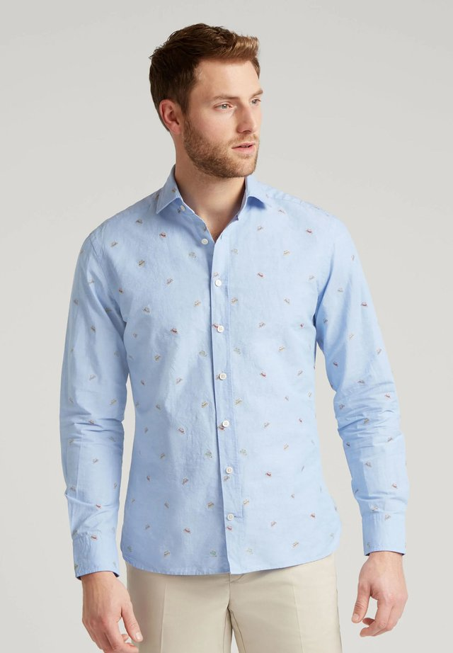 STRAW HAT - Camisa - blue