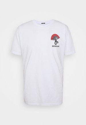 ONE FAN TEE UNISEX - Print T-shirt - bright white
