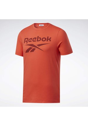 GRAPHIC SERIES REEBOK STACKED TEE - Print T-shirt - orange