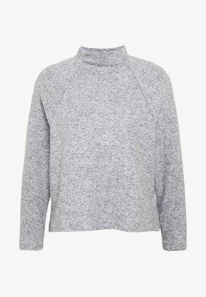 VMTAMMI HIGHNECK RAGLAN - Pullover - light grey melange