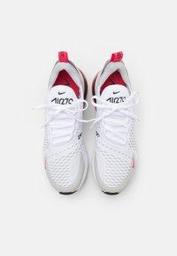 Nike Sportswear - AIR MAX 270 - Zapatillas - white/light fusion red/grey fog/black - 5