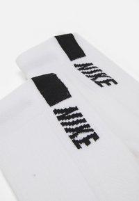 Nike Performance - 2 PACK UNISEX - Sportsstrømper - white/black - 1