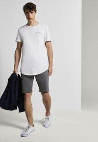 TOM TAILOR DENIM - Denim shorts - eiffel tower - 1