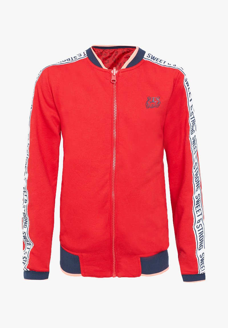 WE Fashion - Blouson Bomber - red