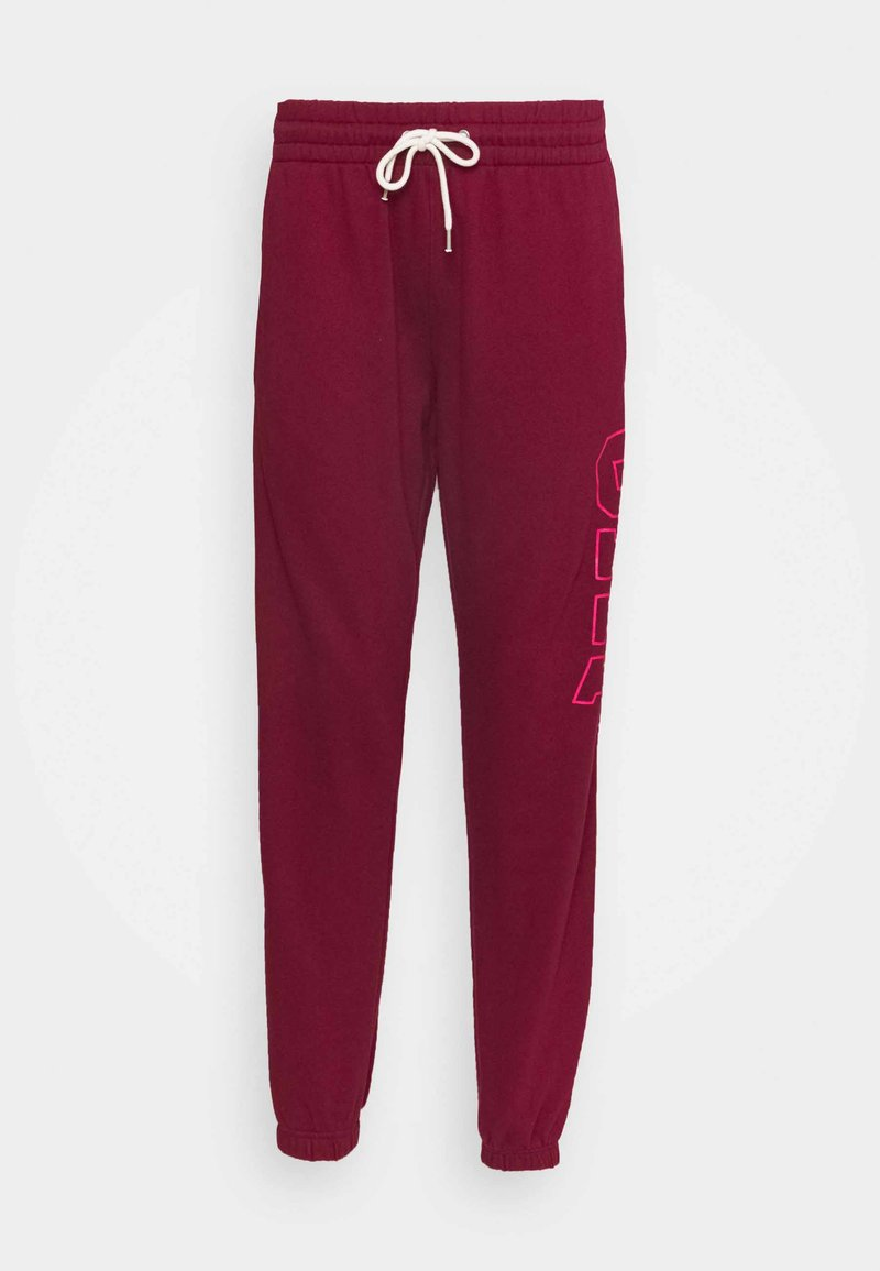 GAP - EASY - Tracksuit bottoms - garnet