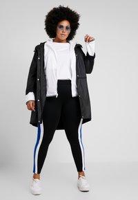 Nike Sportswear - PLUS - Summer jacket - white/cool grey - 1