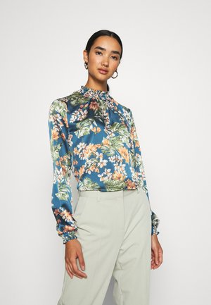 VIBLUME - Blouse - china blue