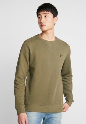 CREW NECK - Sweatshirt - lichen green