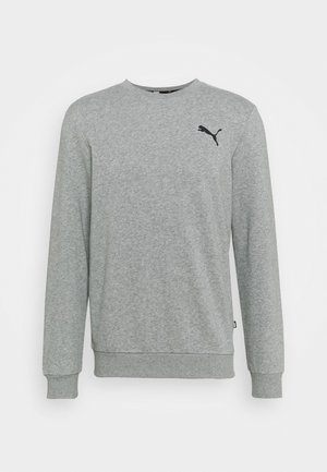 SMALL LOGO CREW - Sudadera - medium gray heather