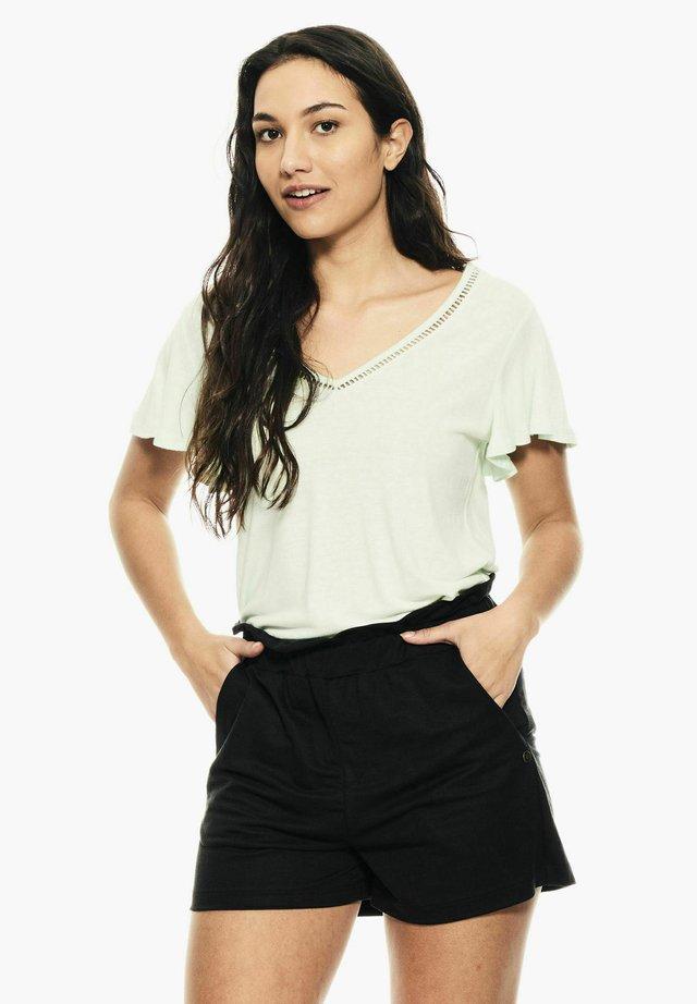 T-shirt basique - aqua mint