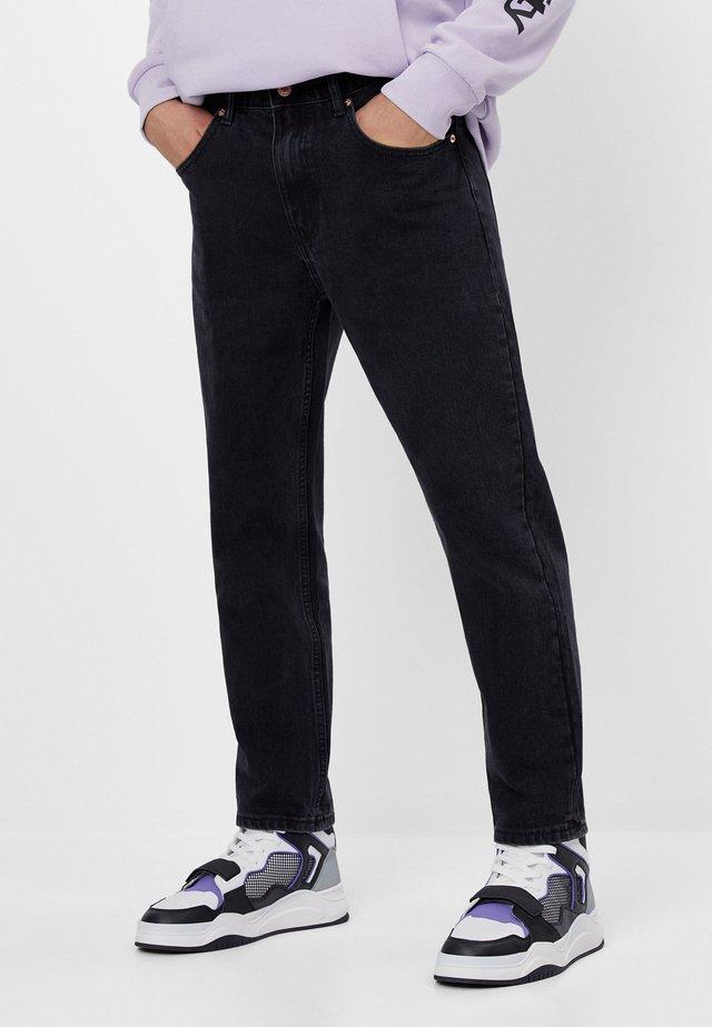 Jean droit - black