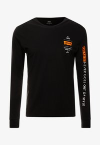 Levi's® Extra - GRAPHIC TEE - Camiseta de manga larga - black - 5