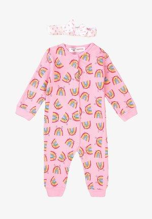 SET - Sleep suit - pink