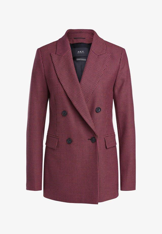 Blazer - pink grey