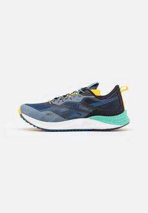 NATIONAL GEOGRAPHIC FLOATRIDE ENERGY 3.0 ADVENTURE - Neutrala löparskor - batik blue/semi pixel mint/boldly yellow