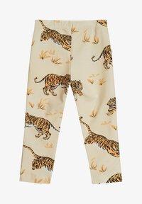 The Striped Cat - SKY LEGGINGS TIGER - Leggings - Trousers - sand - 0