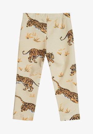 SKY LEGGINGS TIGER - Leggings - Trousers - sand