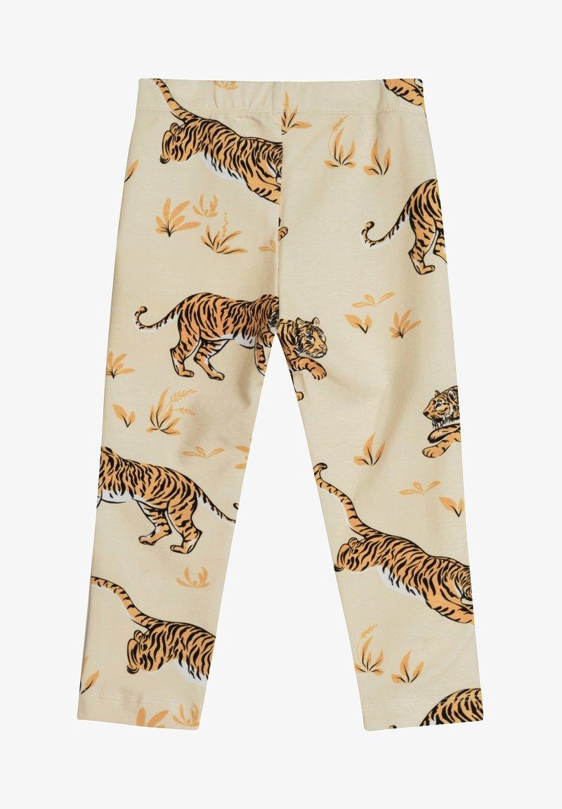 The Striped Cat - SKY LEGGINGS TIGER - Leggings - Trousers - sand