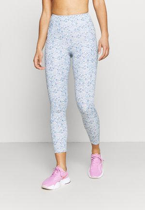 LIFESTYLE POCKET - Leggings - wild ditsy tonal blues