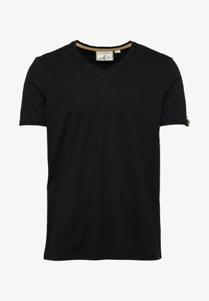 WE GO UNDERGROUND - Basic T-shirt - black