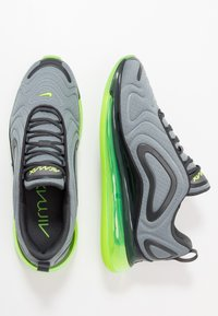 Nike Sportswear - AIR MAX 720 - Sneakersy niskie - smoke grey/electric green/anthracite - 1