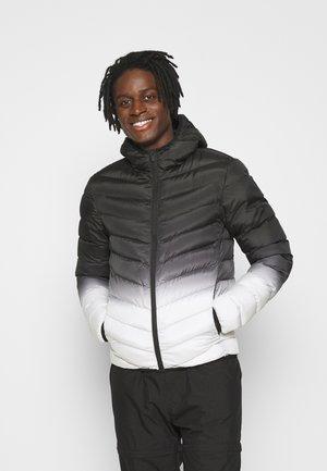 GRANT GRAD - Winter jacket - black/white