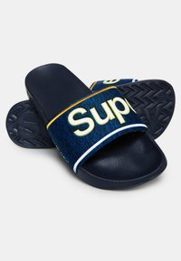 Superdry - College - Badesandale - blue - 2