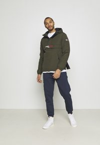 Tommy Jeans - Tracksuit bottoms - twilight navy/multi - 1