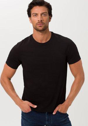 STYLE TOMMY - Basic T-shirt - black