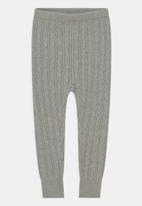 GAP - CABLE UNISEX - Leggings - Trousers - grey heather - 0