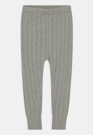 CABLE UNISEX - Leggings - Trousers - grey heather