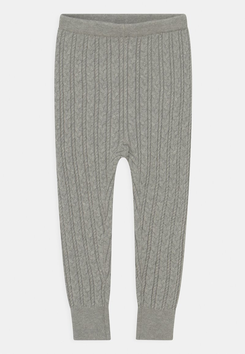 GAP - CABLE UNISEX - Leggings - Trousers - grey heather