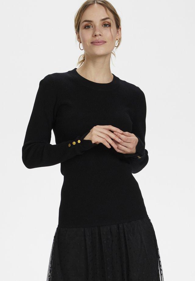 KAASTRID  - Sweter - black deep